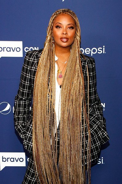 Eva Marcille BravoCon Press Room in New York City on Saturday, November 16, 2019 | Photo: Getty Images