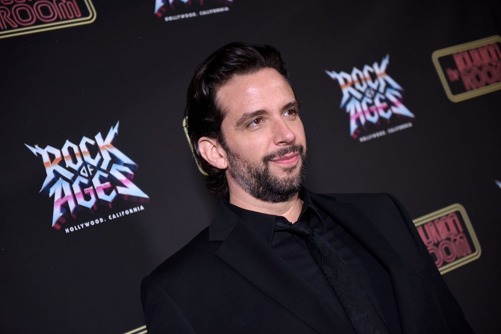 """Nick Cordero at the opening night of """"Rock Of Ages"""" at The Bourbon Room on January 15, 2020, in Hollywood, California   Photo: Vivien Killilea/Getty Images"""