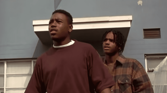 """Tyrin Turner during an appearance on """"Menace II Society"""" 