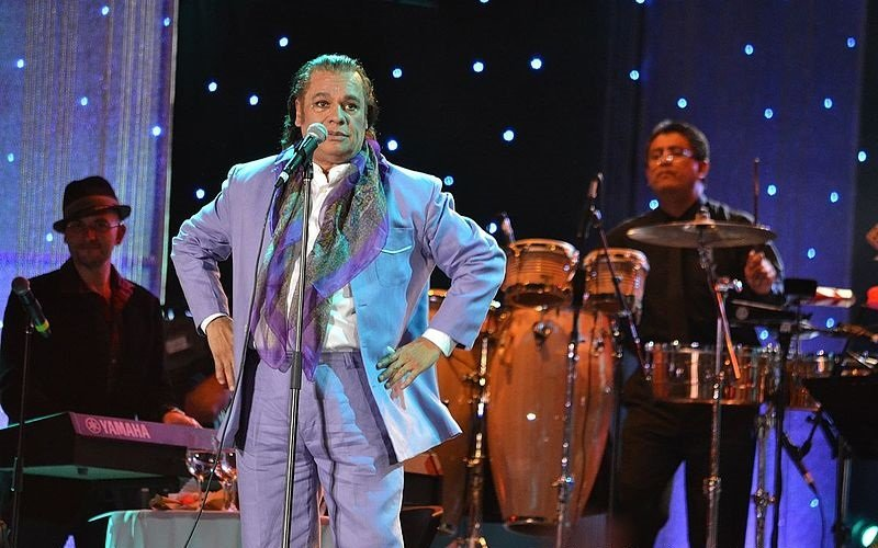 Juan Gabriel en Festival Festival Verano de Iquique. Año 2012. | Imagen: Wikimedia Commons