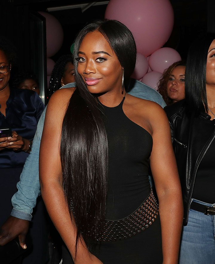 """Yandy Smith attends """"The Pink Panther Clique"""" book release party at Manhattan Brew & Vine in New York City in October 2017. I Image: Getty Images."""