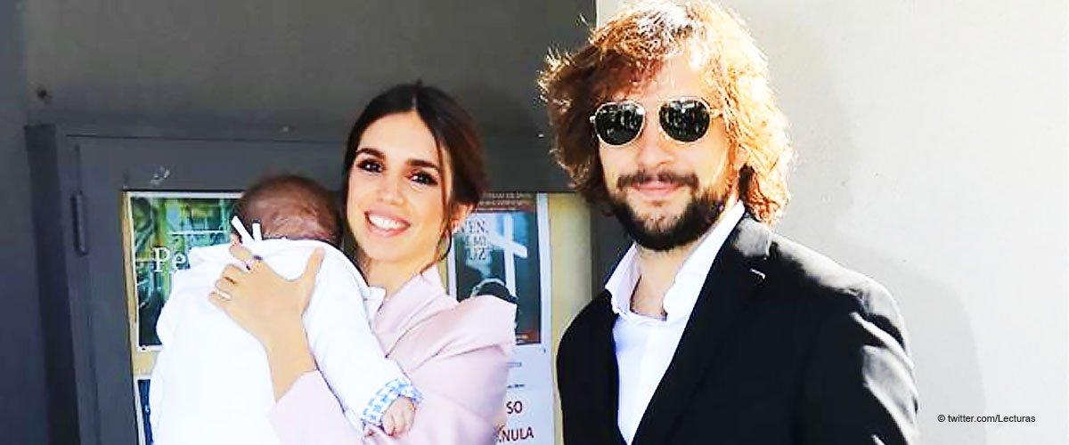 Elena Furiase y Gonzalo Sierra bautizan a su hijo Noah acompañados de muchos rostros conocidos