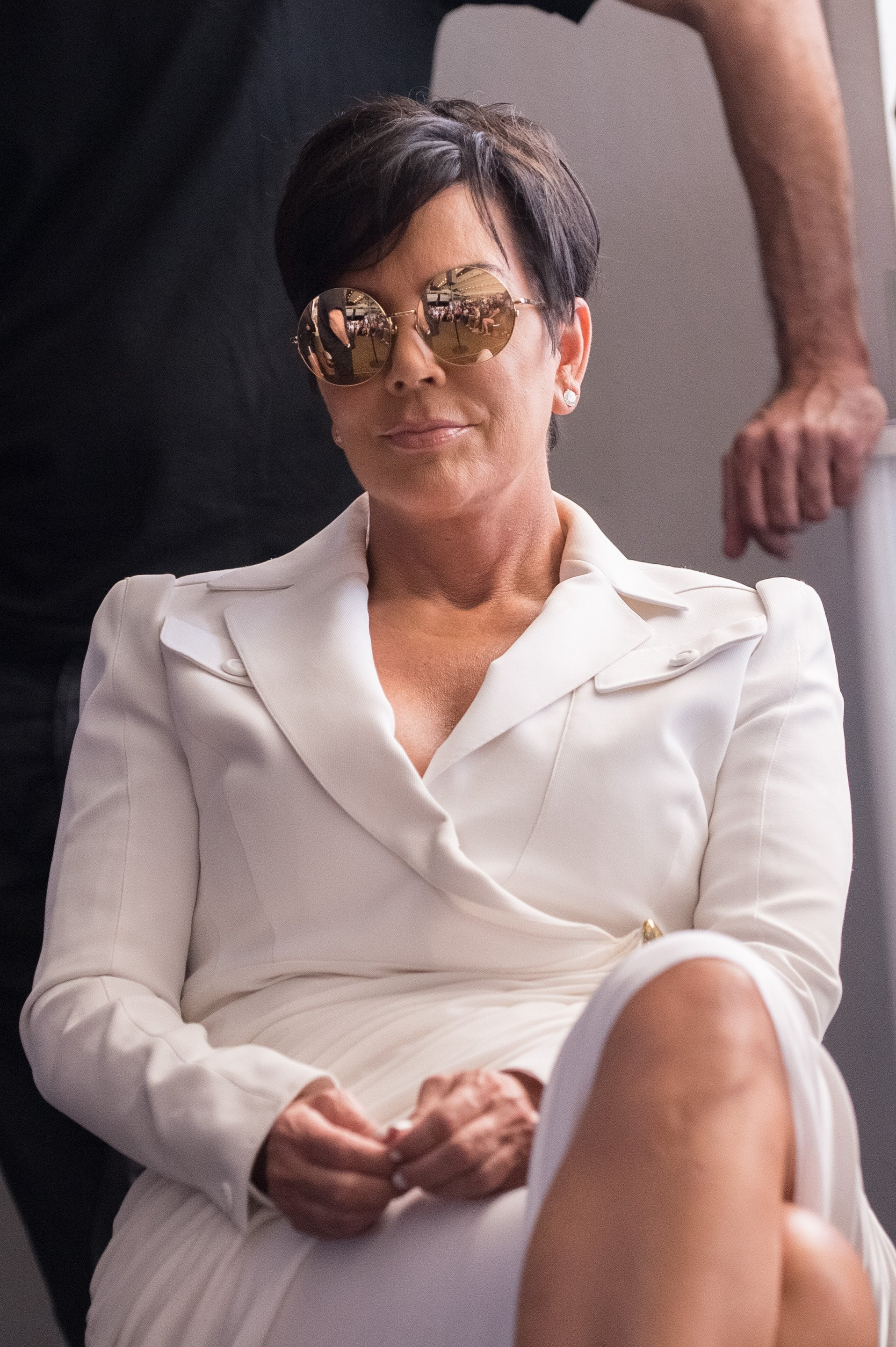 Kris Jenner at a talk during the Cannes Lions International Festival in June 2015. | Photo: Getty Images