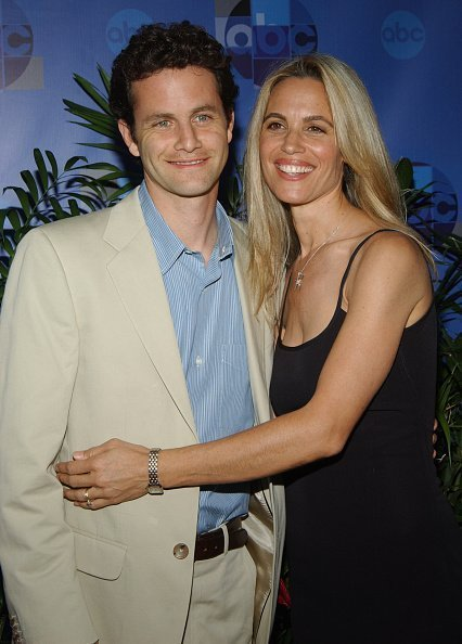Kirk Cameron and Chelsea Noble during 2004 ABC All Star Party at C2 CafZ in Century City, California, United States | Photo: Getty Images