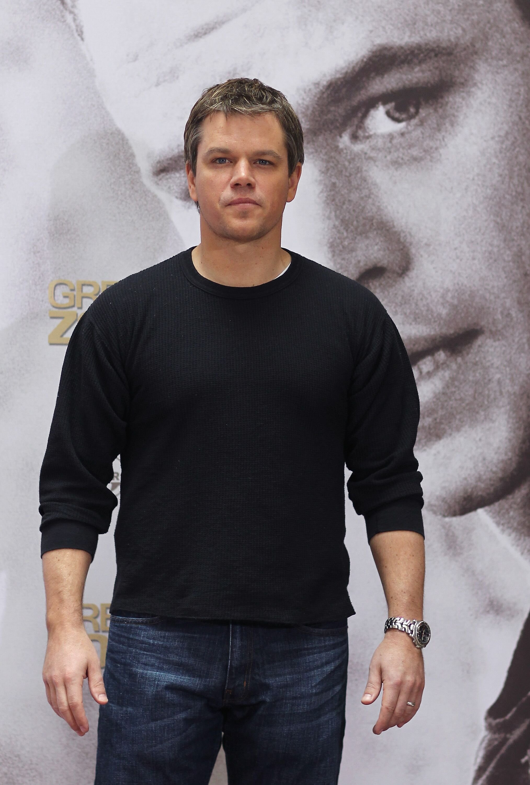 Matt Damon attends a photocall to promote the new movie. | Source: Getty Images