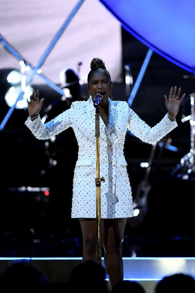 Jennifer Hudson performs at the 2019 Global Citizen Prize at the Royal Albert Hall  | Getty Images