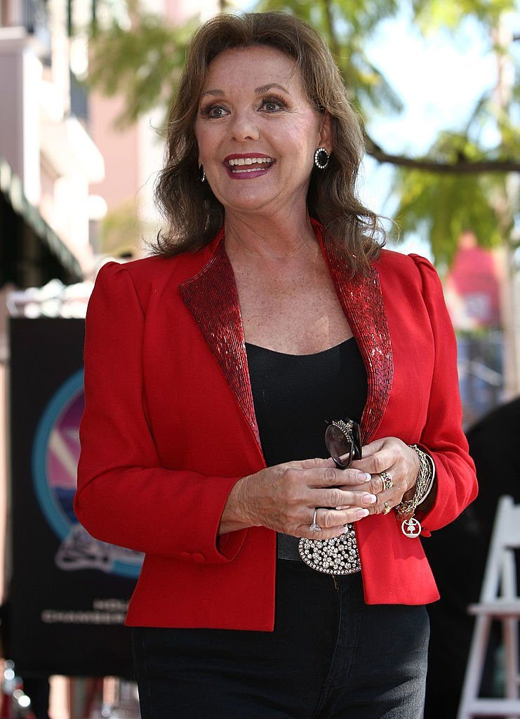 Dawn Wells attending producer, Sherwood Shwartz' ceremony where he was honored with a star on the Hollywood Walk of Fame, March 7, 2008. | Photo: Getty Images.