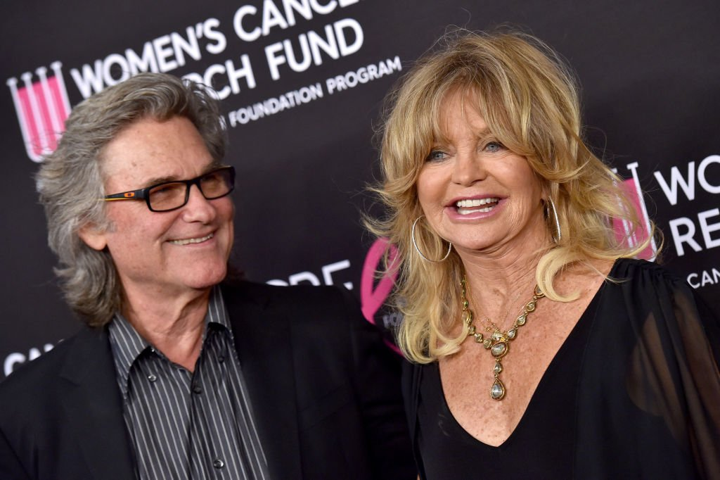 Goldie Hawn and Kurt Russell pictured at The Women's Cancer Research Fund's An Unforgettable Evening Benefit Gala, 2019, California. | Photo: Getty Images