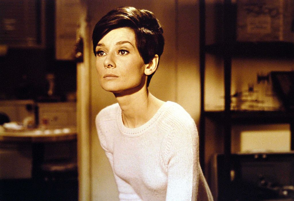 Audrey Hepburn en una escena del thriller policial 'Wait Before Dark', 1967. | Foto: Getty Images
