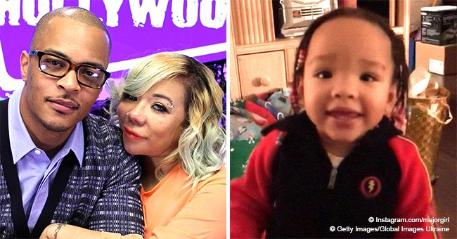 T.I. & Tiny Harris' daughter Heiress, 2, proves she's smart, correctly answers questions in video