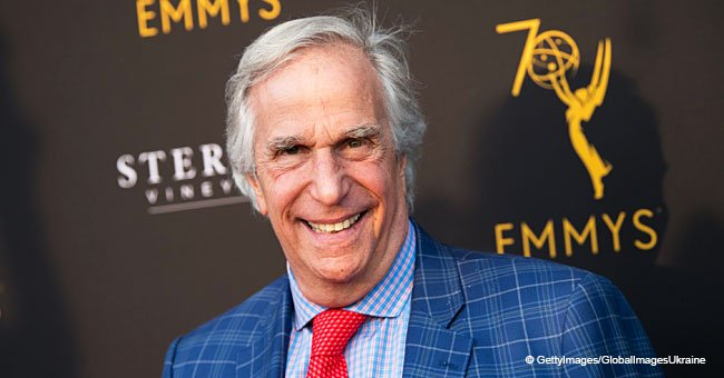 Henry Winkler stuns with his dance moves from cult series 'Happy Days'
