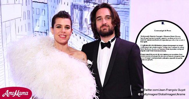 Charlotte Casiraghi et Dimitri Rassam ont finalement répondu aux rumeurs concernant leur séparation