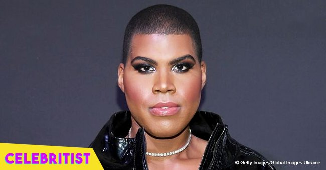 EJ Johnson rocks tight dress and thigh-high boots after his father was dragged over birthday tribute