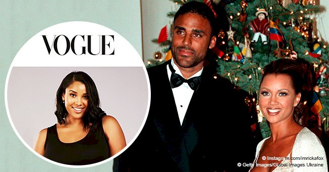 Rick Fox & Vanessa Williams' daughter models Serena Williams' clothing line on cover of 'Vogue'