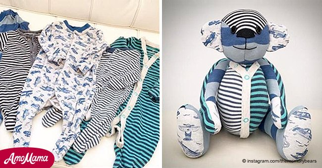 Here's how you can turn your baby's clothes into keepsake 'memory bears'