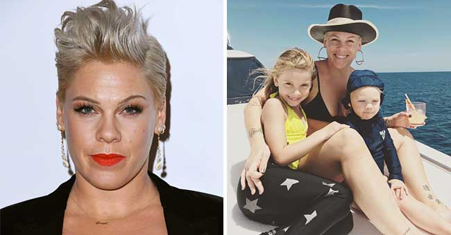 P!Nk Shares a Sarcasm-Laden Post about Her Children in Response to the 'Parenting Police'
