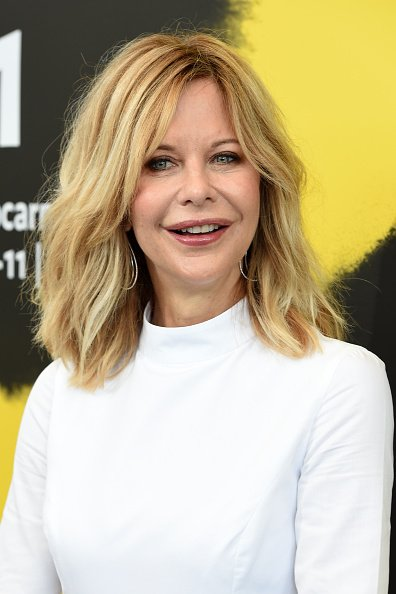 Meg Ryan at the 71st Locarno Film Festival in Locarno, Switzerland. | Photo: Getty Images.