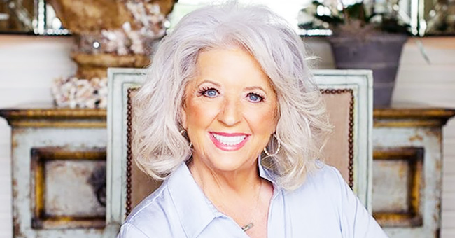 Paula Deen's Son Bobby Looks Radiant Holding Two of His Beautiful Triplets in a Family Photo