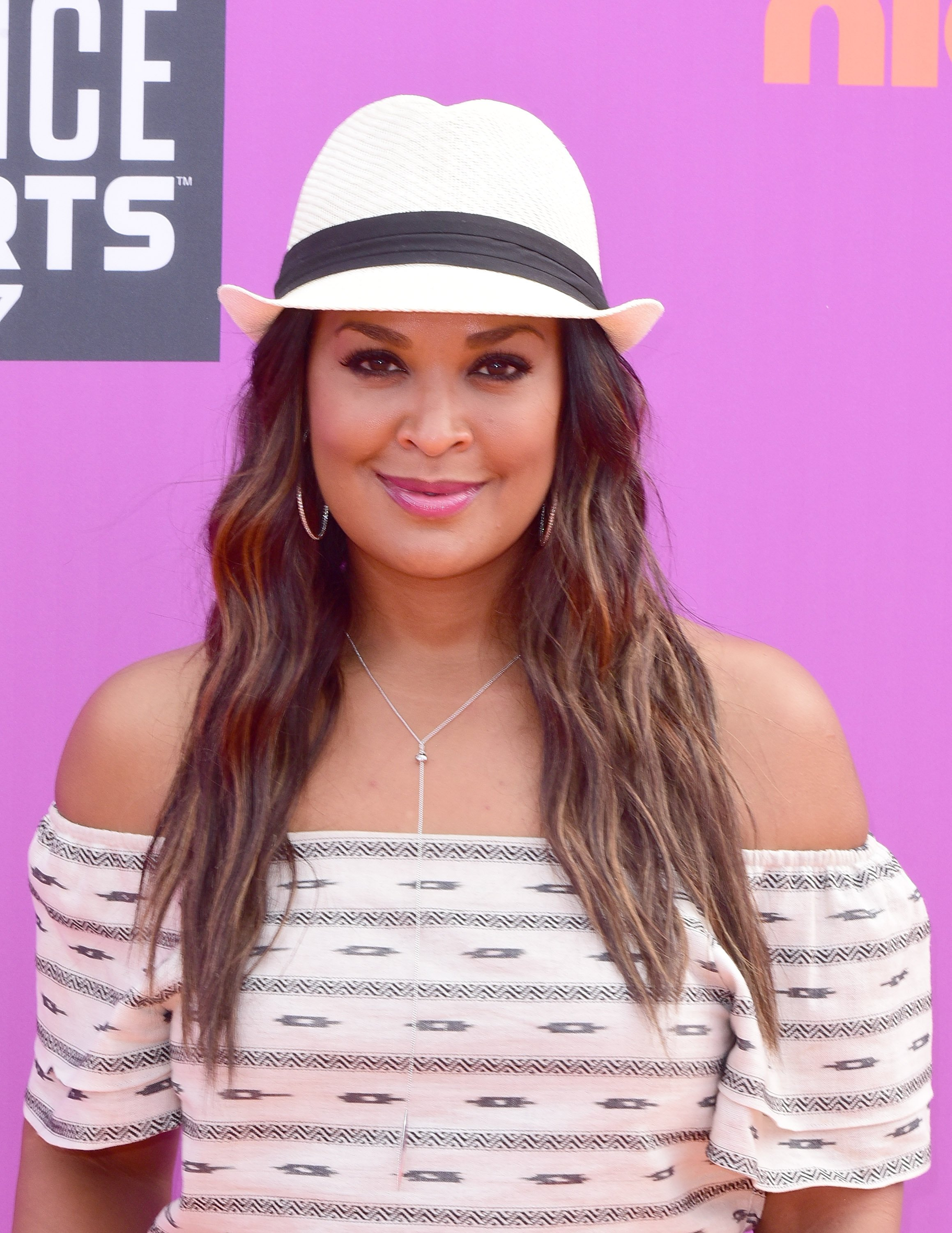 Laila Ali at the 2017 Nickelodeon Kids' Choice Awards. | Photo: Getty Images