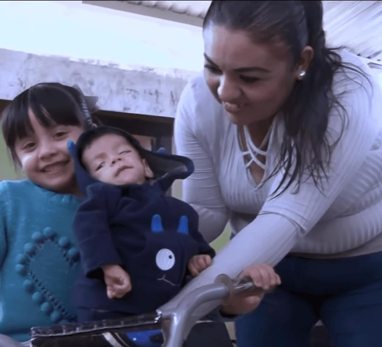 María Elena Figueroa y José. Fuente: YouTube/Primer Impacto