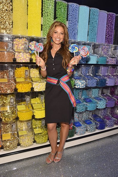 Dylan Lauren attends the Dylan's Candy Bar Union Square grand opening on September 1, 2015, in New York City. | Source: Getty Images.
