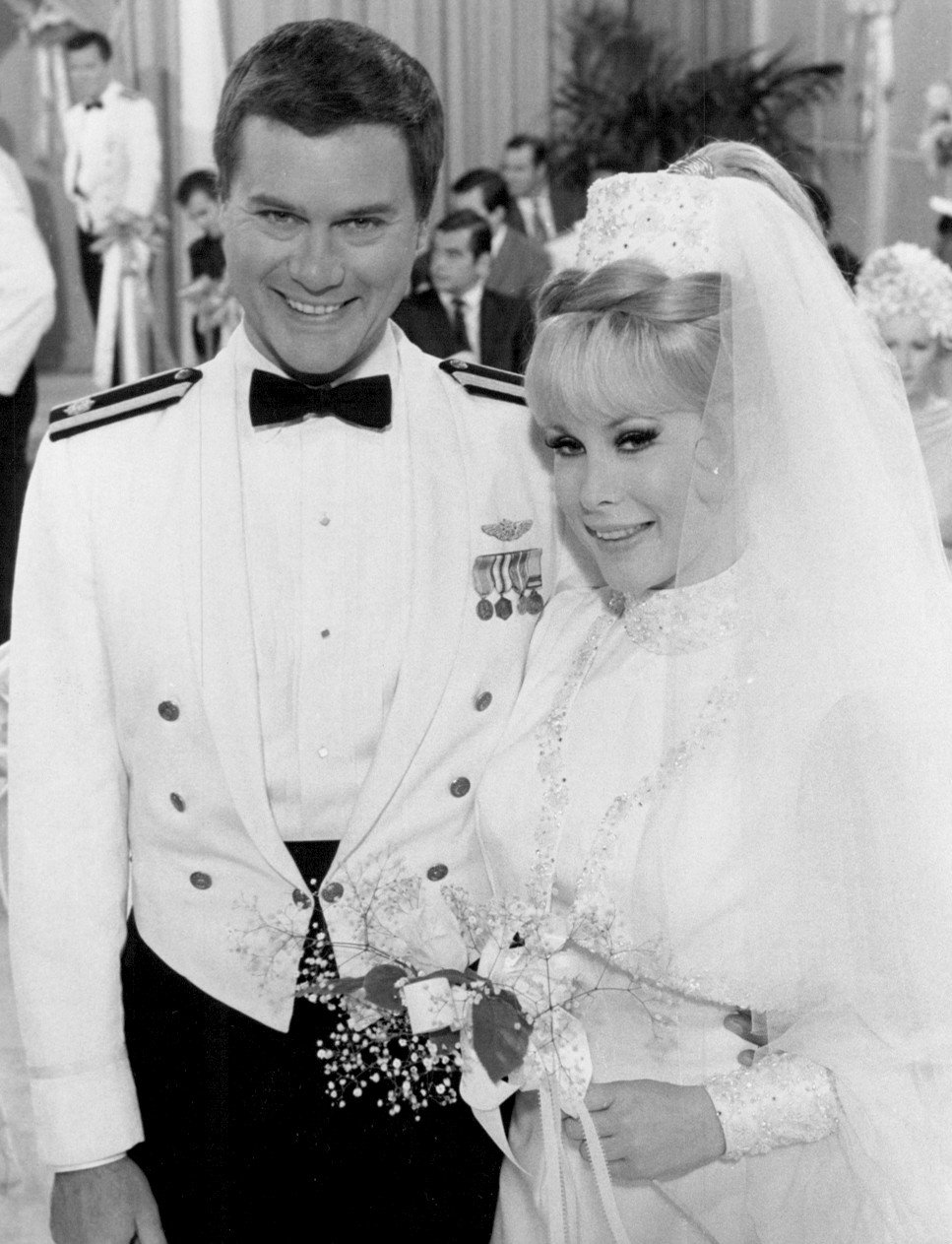 Photo of Jeannie and Tony's wedding from I Dream of Jeannie. | Wikimedia Commons