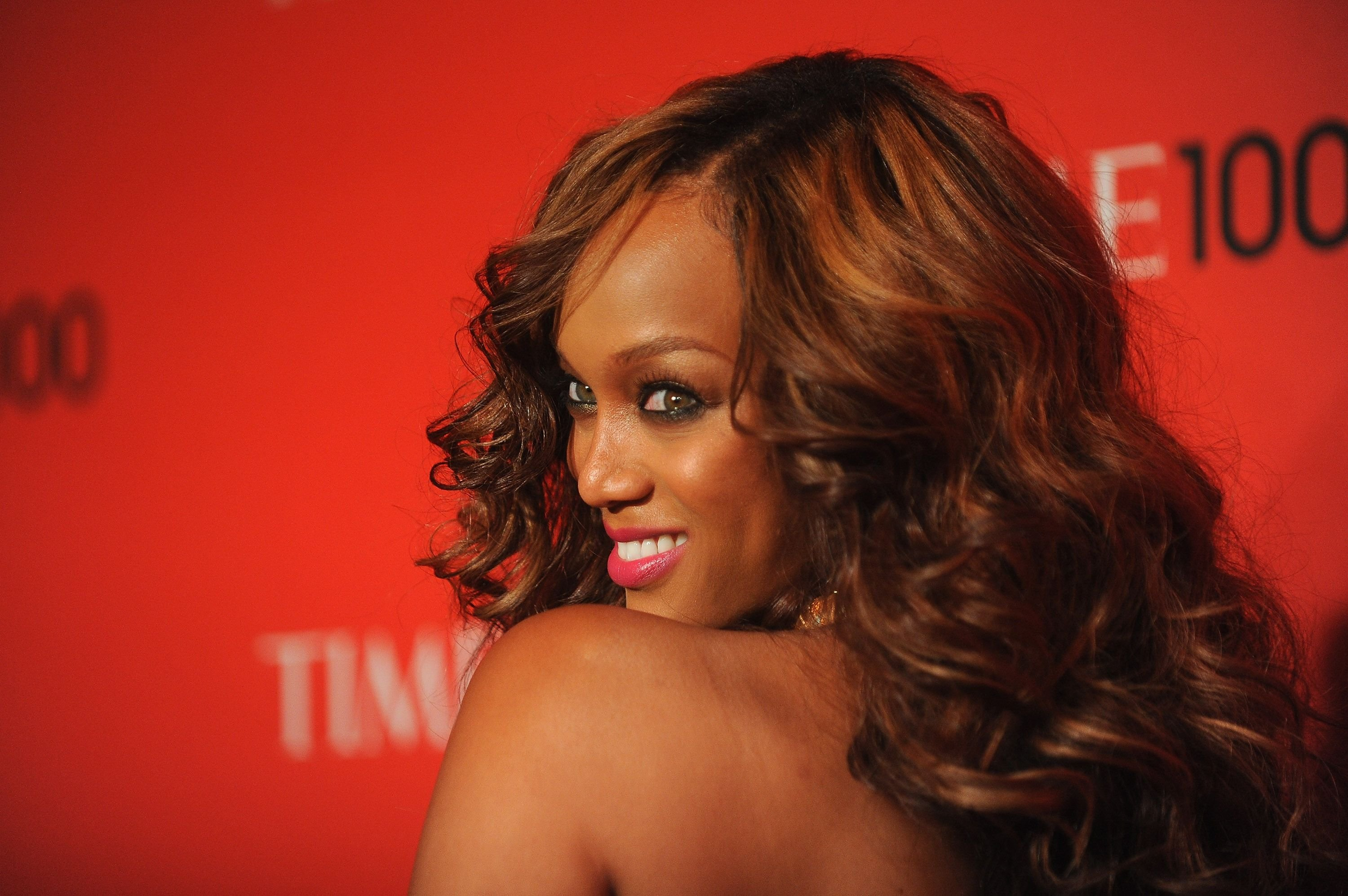 Tyra Banks during the TIME 100 Gala celebrating TIME'S 100 Most Influential People In The World at Jazz at Lincoln Center on April 24, 2012 in New York City. | Source: Getty Images