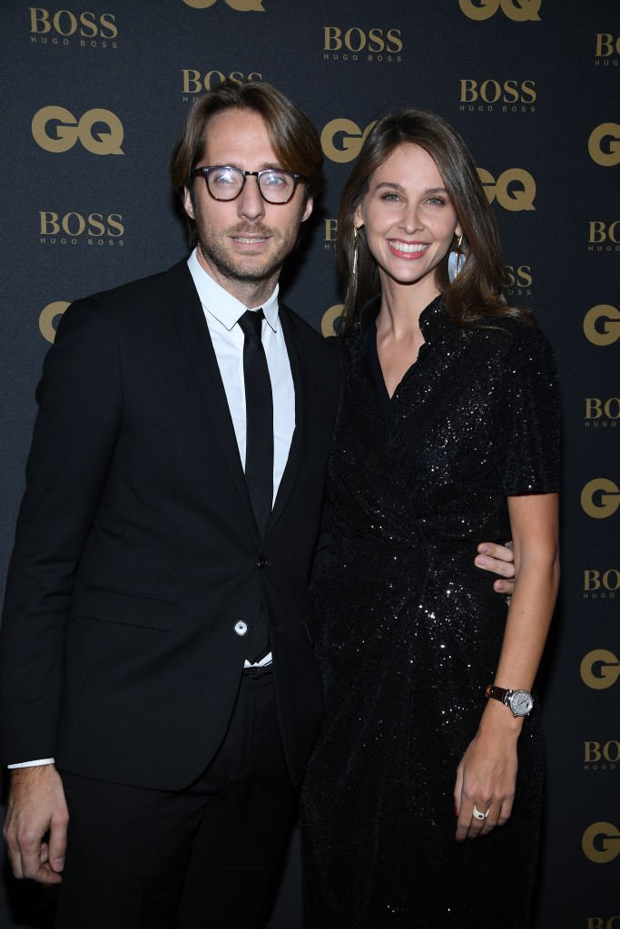 Mathieu Vergne et Ophelie Meunier assistent aux GQ Men Of The Year Awards 2017 au Trianon le 15 novembre 2017 à Paris. | Photo : Getty Images