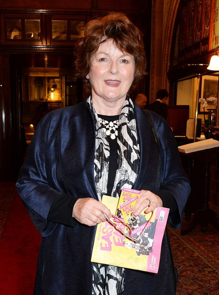 Brenda Blethyn le 16 octobre 2014 à Londres. l Source : Getty Images