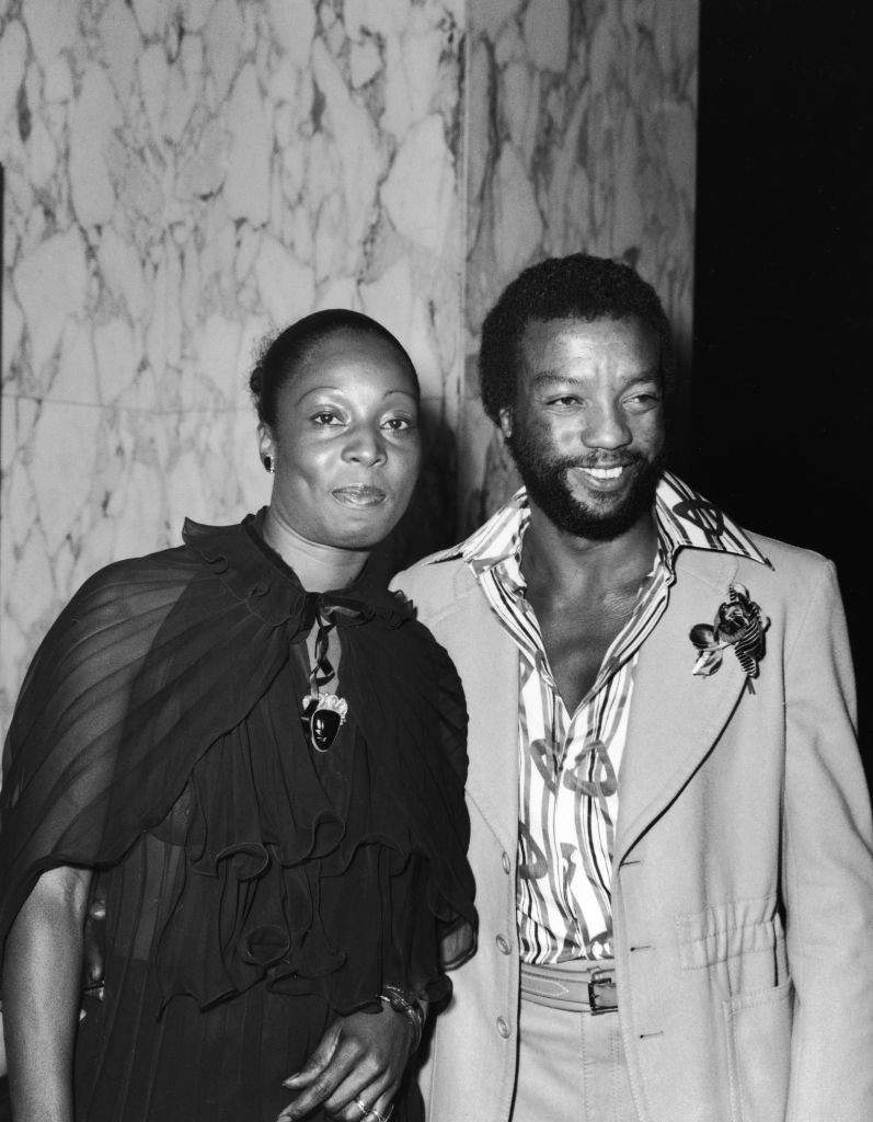 Madge Sinclair and American actor Paul Winfield at the premiere of 'Claudine,' in Hollywood on May 1974   Photo: Getty Images