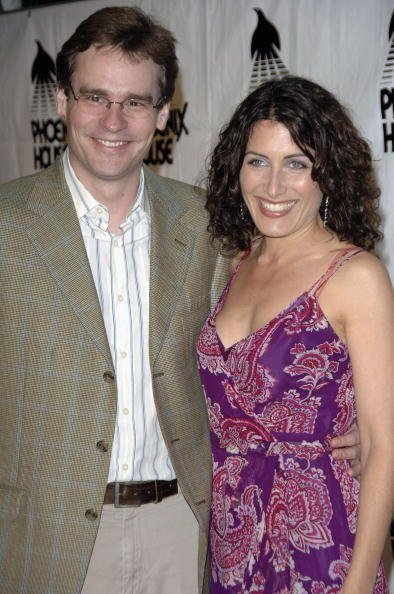 Robert Sean Leonard and Lisa Edelstein at the Four Seasons Hotel on April 10, 2006 in Los Angeles, California | Photo: Getty Images