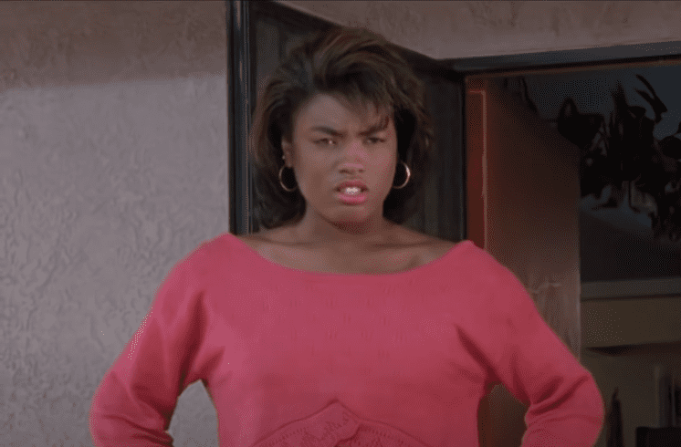 """Alysia Rogers as """"Shanice"""" in a scene from the movie, """"Boyz N the Hood"""" 