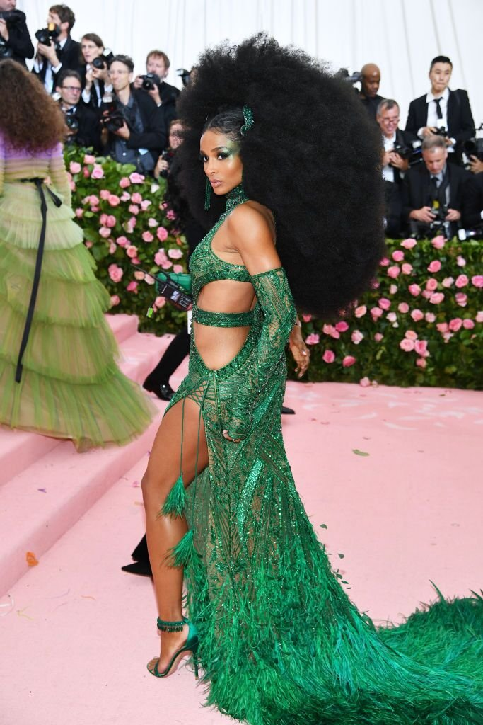Ciara at The 2019 Met Gala Celebrating Camp: Notes on Fashion at Metropolitan Museum of Art on May 06, 2019. | Source: Getty Images