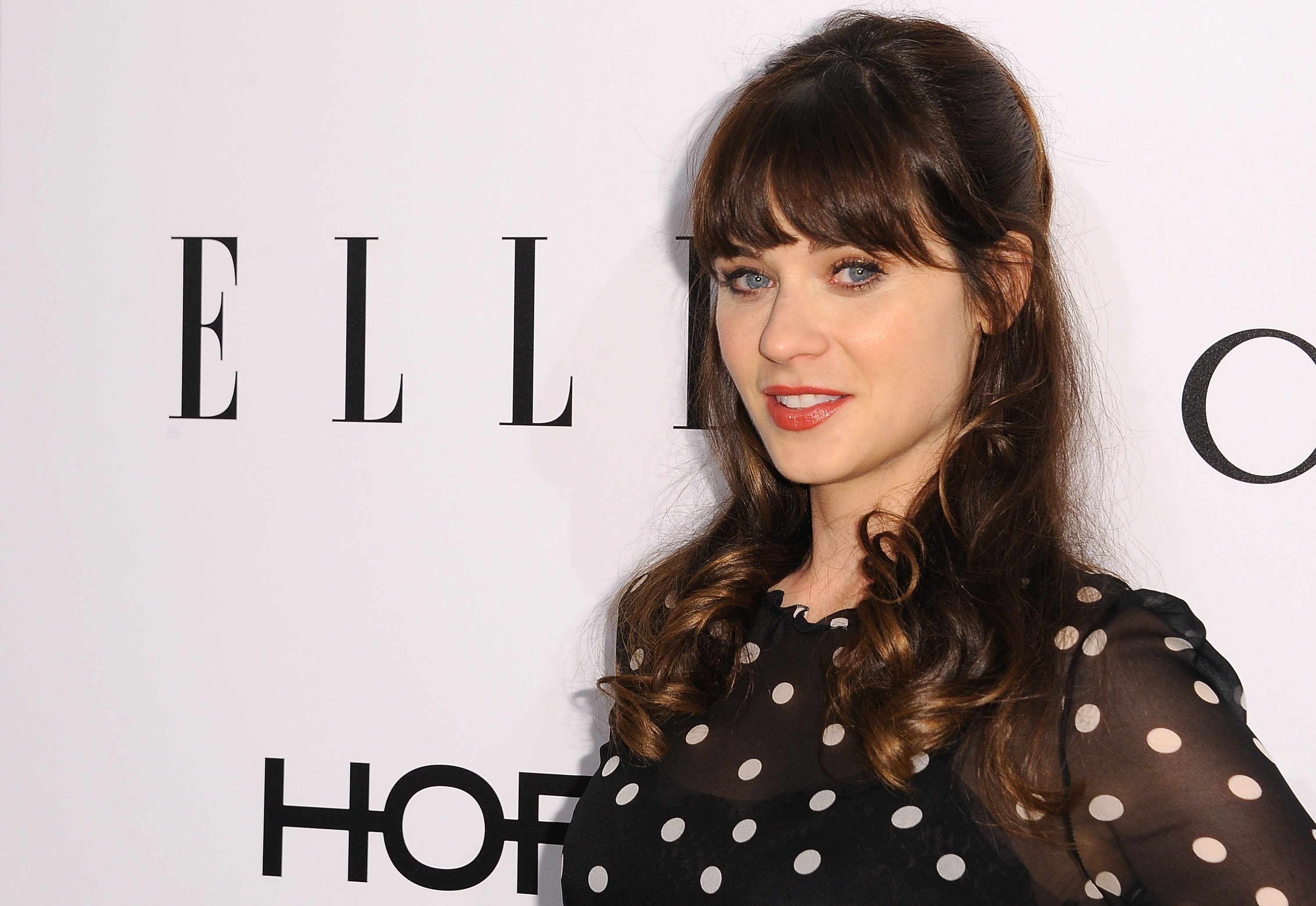 Zooey Deschanel pictured at the ELLE's Annual Women in Television Celebration, 2014, California. | Photo: Getty Images