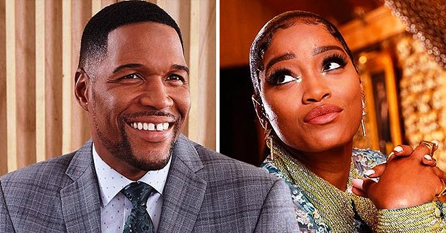 Michael Strahan Shows His Funny Side as He Recreates GMA Co-Host Keke Palmer's Selfie