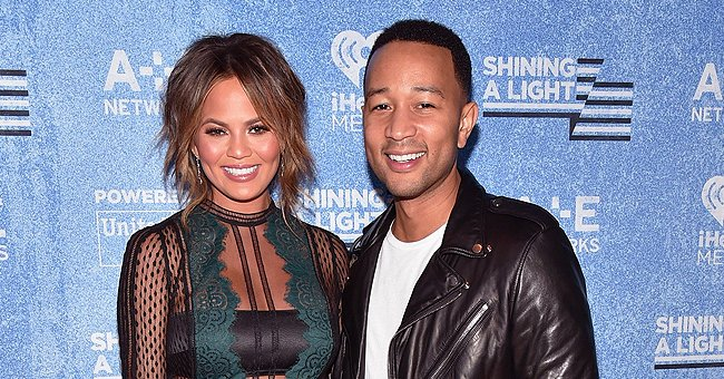 John Legend & Chrissy Teigen Enjoy Beach Vacation with Kids Luna and Miles – Check Out Their Sunset Pic