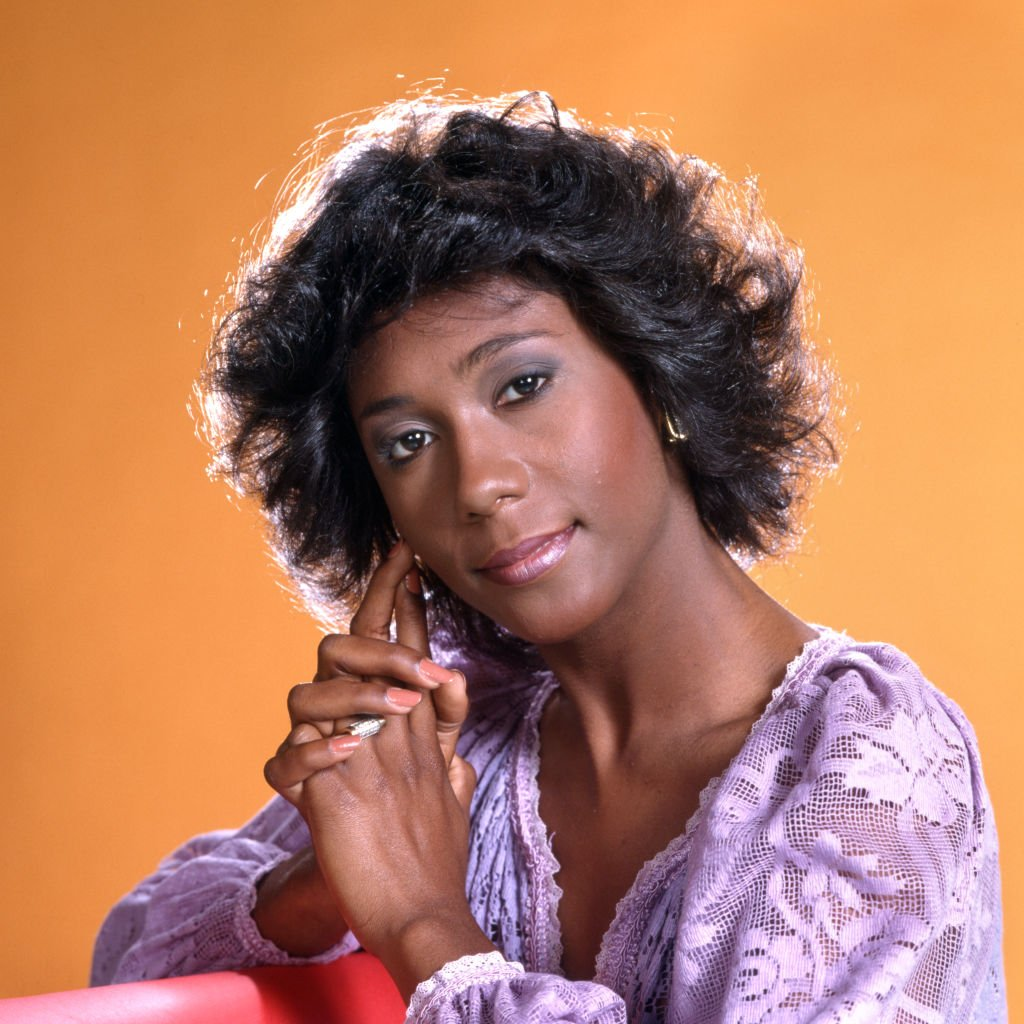 Pictured is Berlinda Tolbert (as Jenny Willis Jefferson) in the CBS television situation comedy, THE JEFFERSONS. Premier episode aired January 18, 1975.   Photo: Getty Images