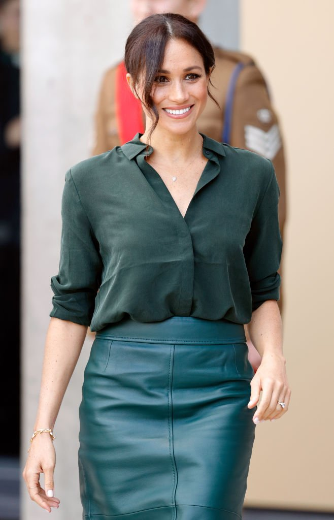 Meghan, Duchess of Sussex visits the University of Chichester's Engineering and Technology Park on October 3, 2018 | Photo: GettyImages