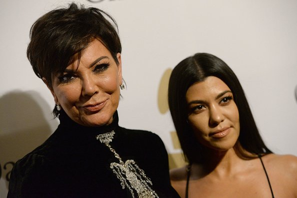 Kris Jenner and Kourtney Kardashian at The Beverly Hilton Hotel on February 11, 2017 in Beverly Hills, California | Photo: Getty Images