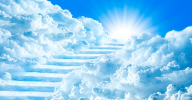 """""""Answer my questions and heaven is yours,"""" said Saint Peter. 