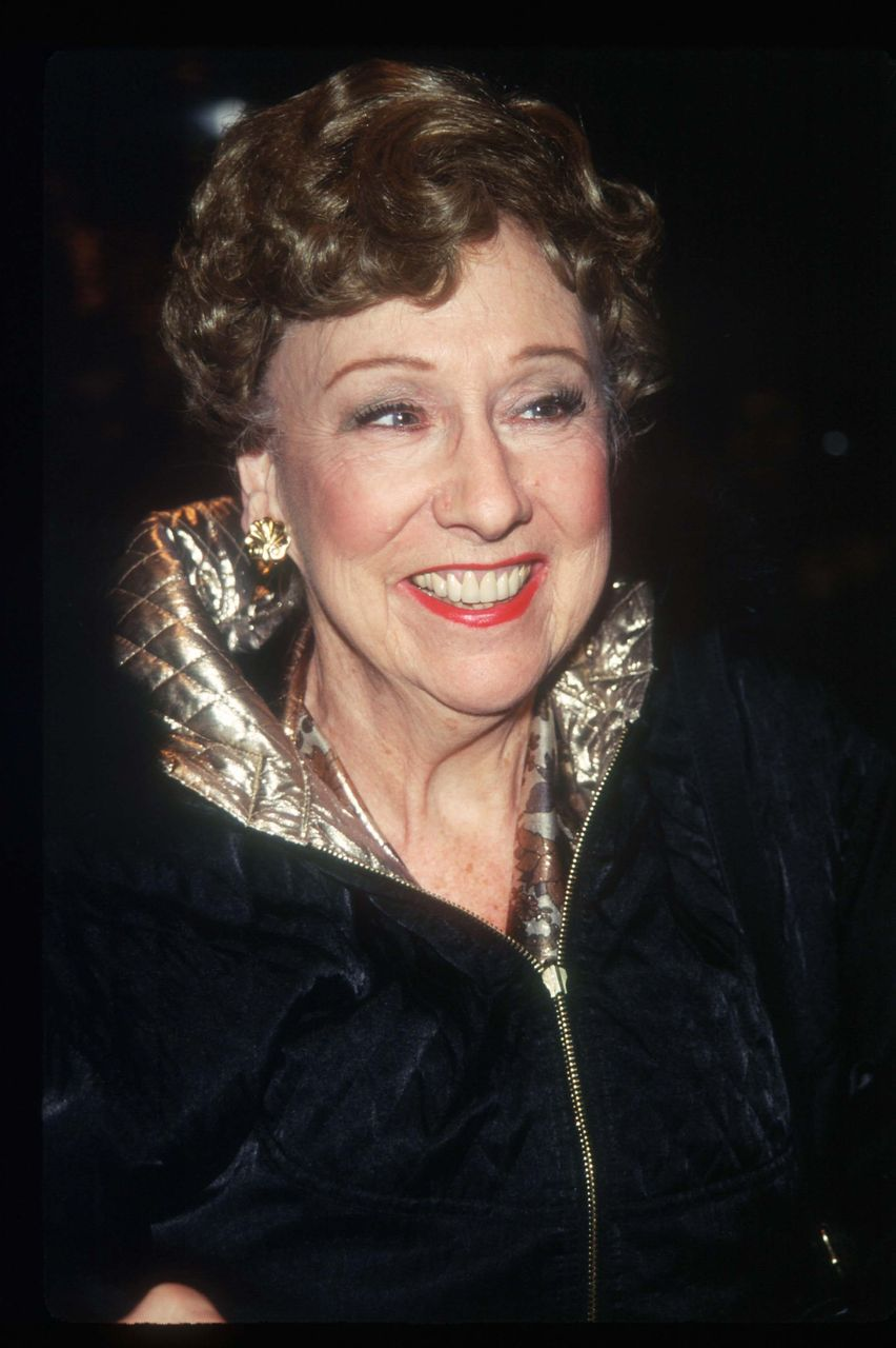 "Jean Stapleton attends the premiere of the film ""Michael"" December 15, 1996 in New York City. 