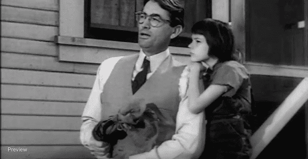 "A clip from ""To Kill a Mockingbird."" 