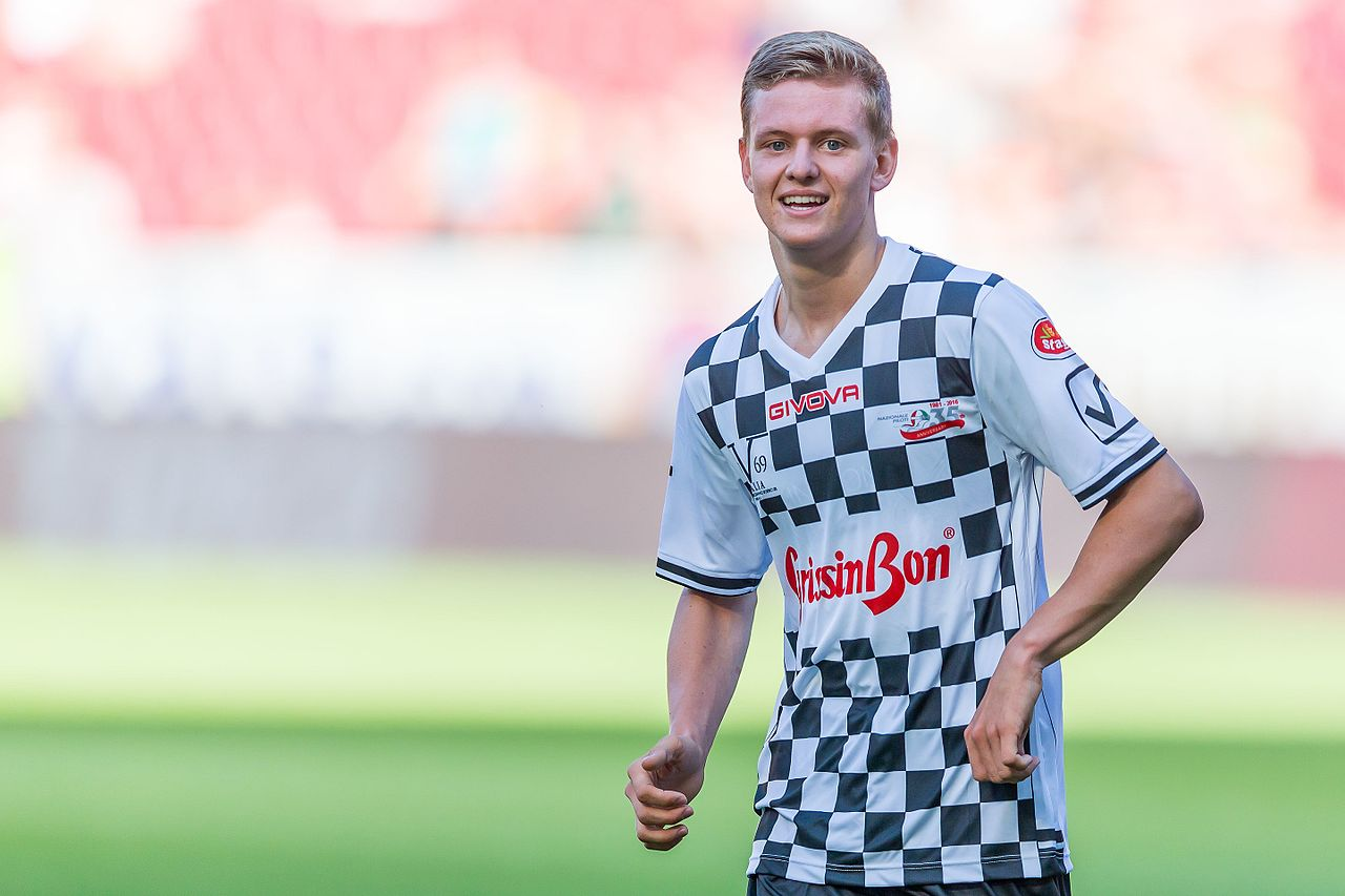 Mick Schumacher, Mainz, 2016 | Quelle: Wikimedia Commons