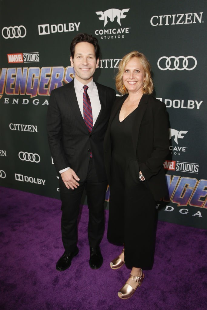 Paul Rudd and Julie Yaeger on April 23, 2019 in Los Angeles, California | Source: Getty Images