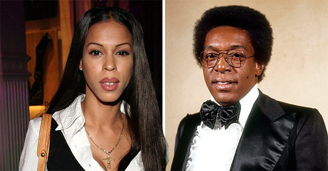 A picture collage of Heather Hunter and Don Cornelius | Photo: Getty Image