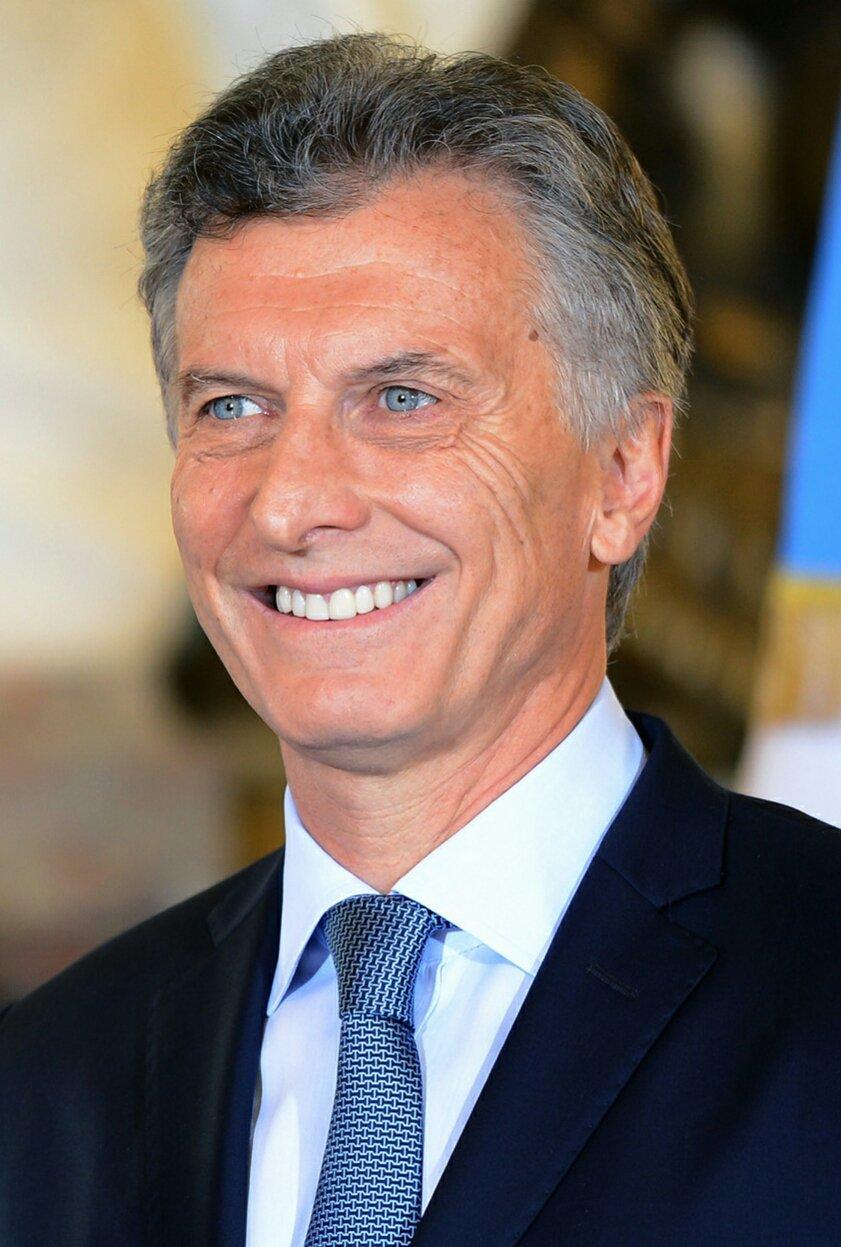 Mauricio Macri, presidente de Argentina. | Imagen: Wikipedia