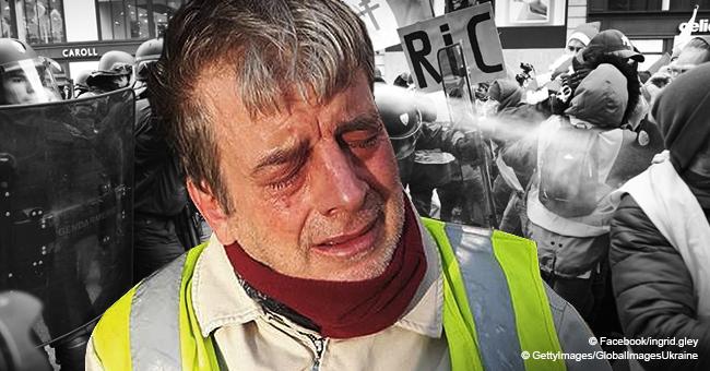 Toulouse : un gilet jaune dans un fauteuil roulant a reçu un jet de gaz lacrymogène dans son visage par un policier