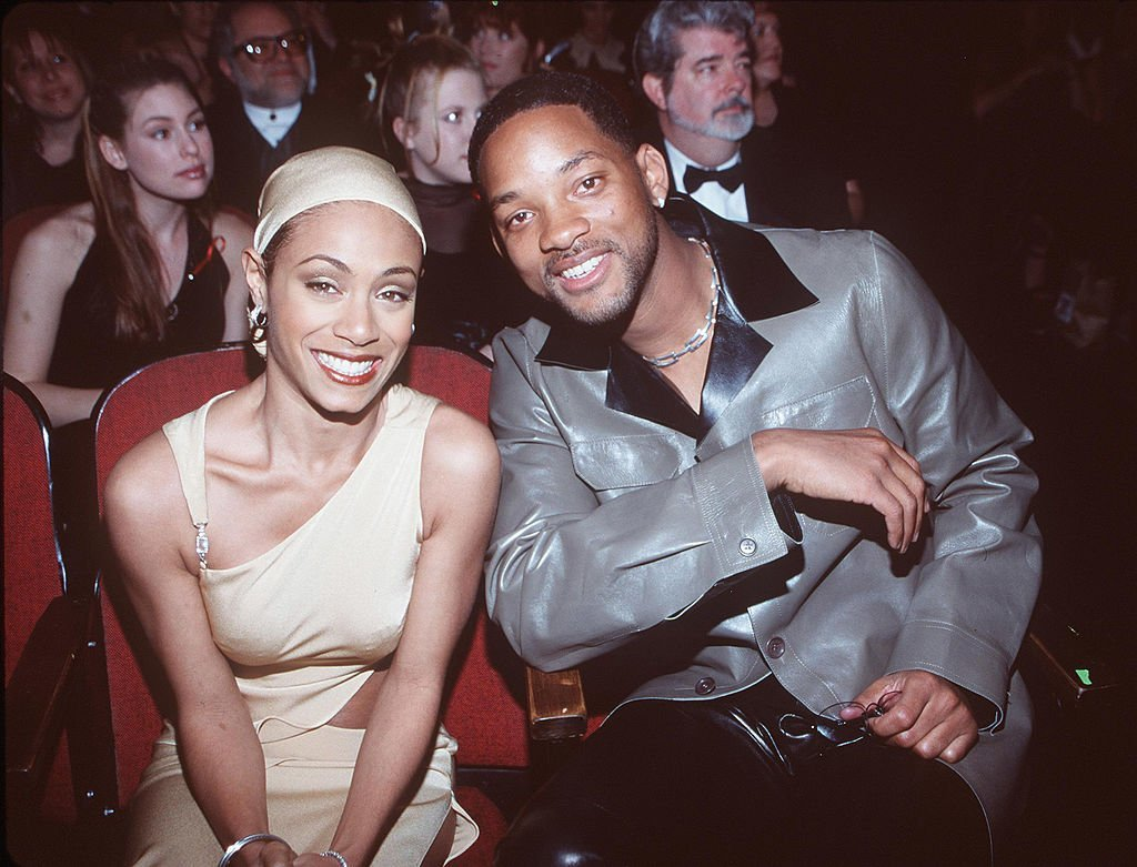 ada Pinkett Smith with her husband Will Smith at the 41st Annual Grammy Awards | Photo: Getty Images