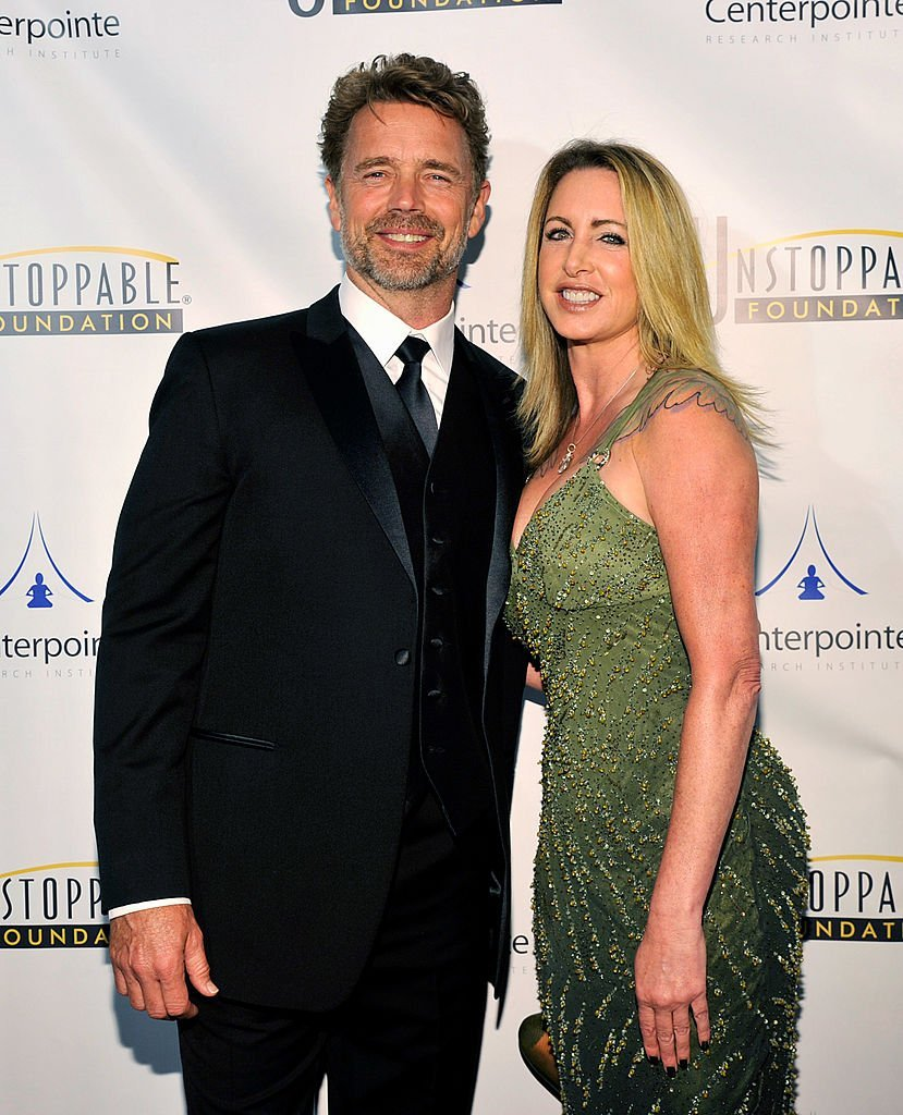 John Schneider and Elly Castle attend the 5th Annual Unstoppable Gala at the Hyatt Regency Century Plaza Hotel on March 15, 2014 | Photo: GettyImages