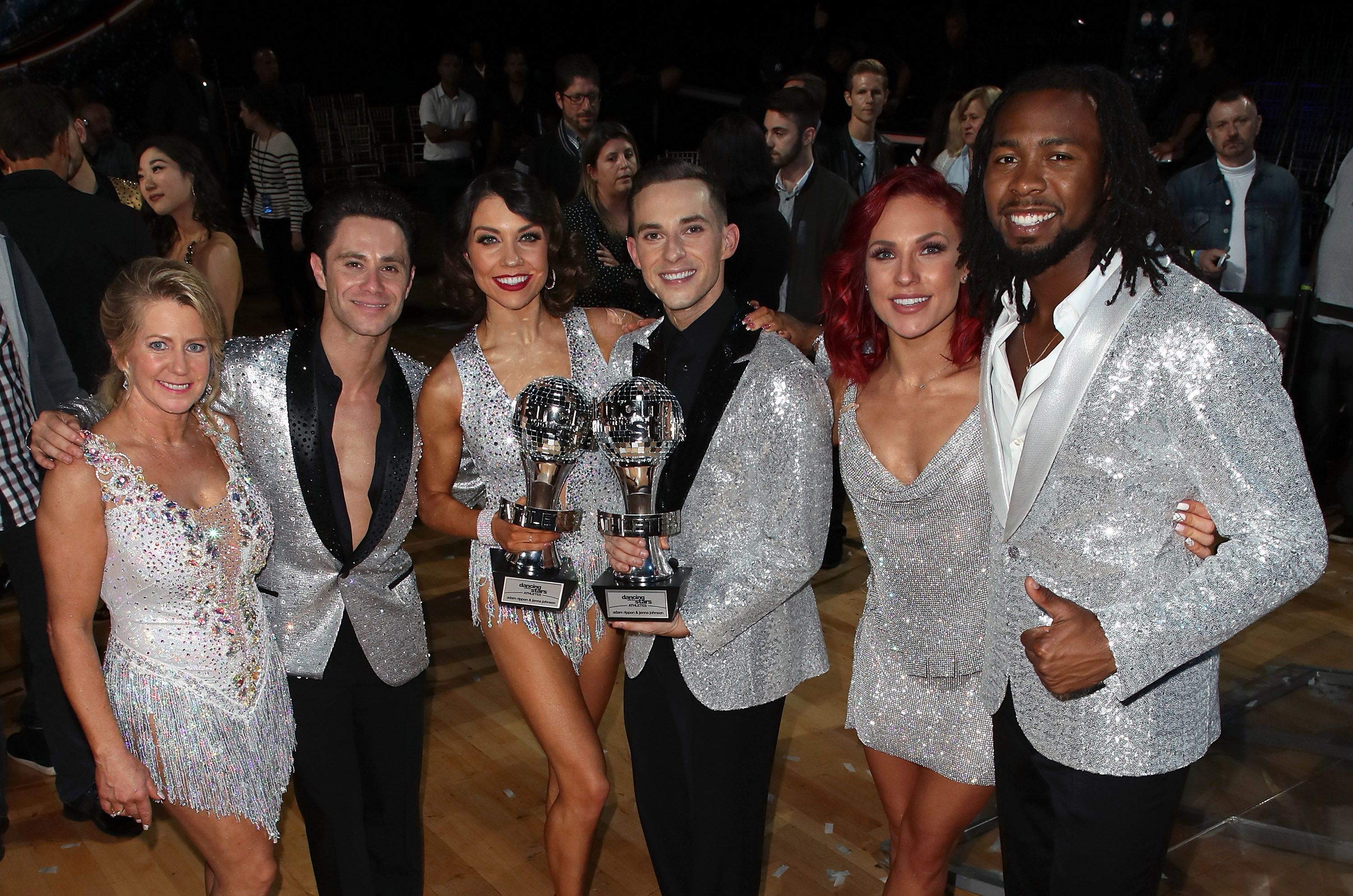 The Pro Dancers of season 26 of Dancing With Stars at the finale in Los Angeles, California on May 21, 2018. | Photo: Getty Images